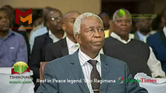 Rest in Peace Vho Ragimana