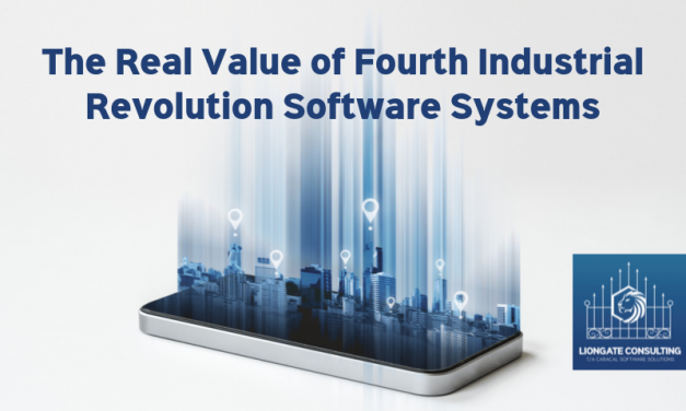 THE REAL VALUE OF FOURTH INDUSTRIAL REVOLUTION SOFTWARE SYSTEMS