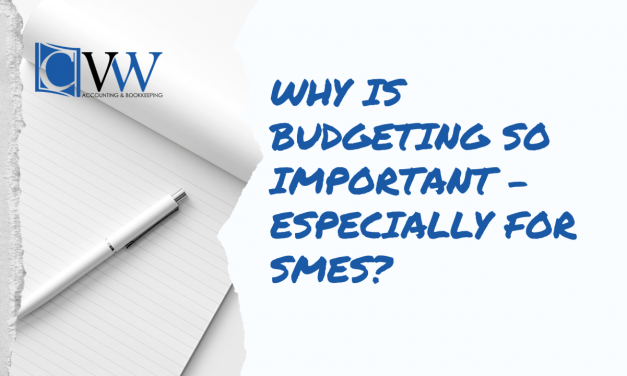 Why is budgeting so important – especially for SMEs?