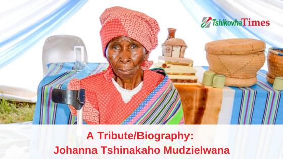 Biography: Johanna Tshinakaho Mudzielwana