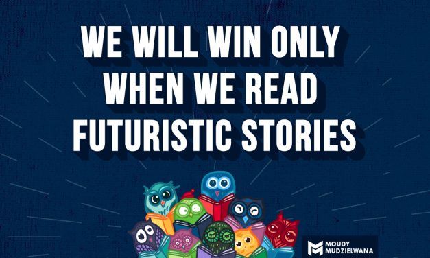 We will win only when we read futuristic stories